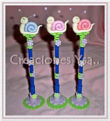 1000 ideas about lapiceros decorados on pinterest cold - Plumas para decorar ...