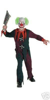 zombie clown scary costume small 46 nwt disguise costumes httpwww