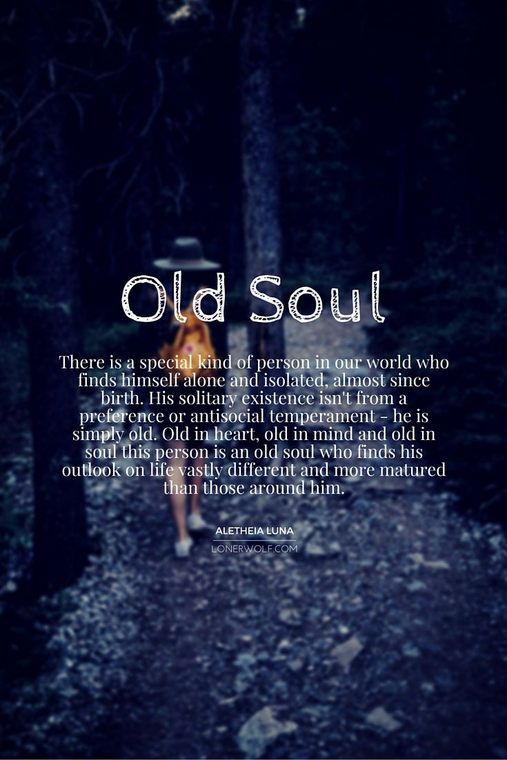 To every old soul at heart ...