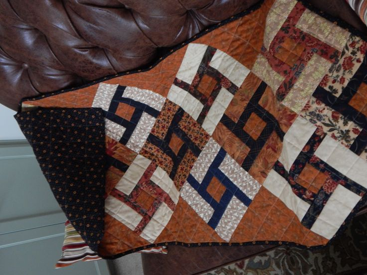 A quilted table runner made for Maddy & Rhys