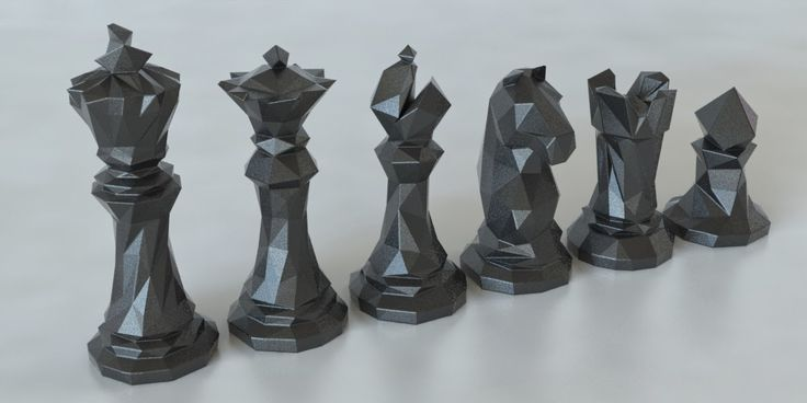 3d Printed Chess Piece Models | Smart House Ideas