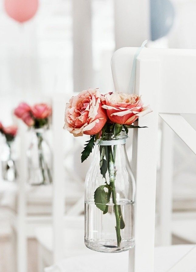 IKEA has a ton of options for floral vessels, and we're loving these milk jug-inspired vases. @theweddingomd #theweddingofmydreams