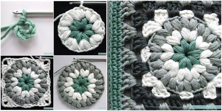 "<p>Inspiration for the one Triple Puff come from internet what you can see below, many ordinary squares, look. But now you can get new one, elegant, unique and luxuriant ""Triple Puff"" Granny Square. This pattern has been made up finally as a new one and unique. So, you can feel free to read the …</p>"