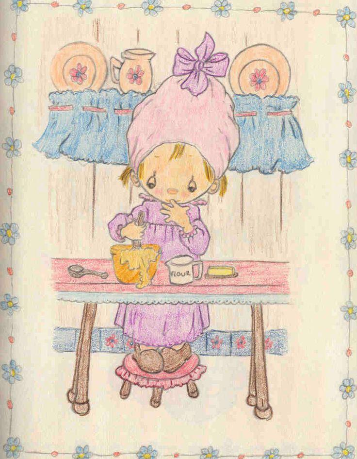 As crianças de Betsey Clark | Imagens para Decoupage
