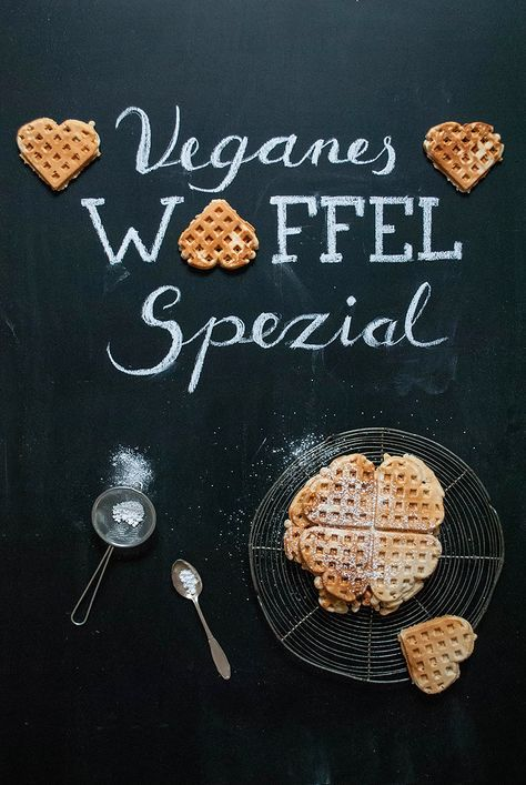 Veganes Waffel Spezial Entdeckt von Vegalife Rocks: www.vegaliferocks.de ✨ I Fleischlos glücklich, fit & Gesund✨ I Follow me for more inspiration @vegaliferocks