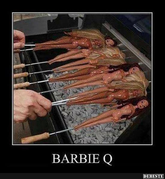 BarbieQ.. | Lustige Bilder, Sprüche, Witze, echt lustig