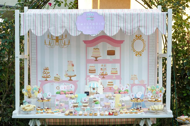 French Bakery Party