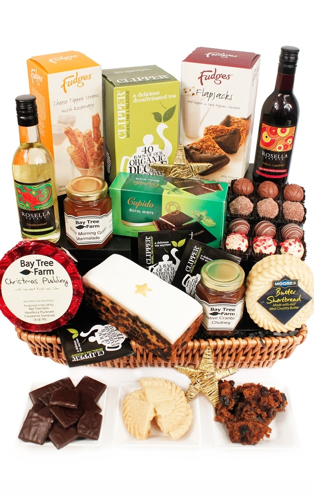 Mistletoe Christmas Hamper www.eden4hampers.co.uk