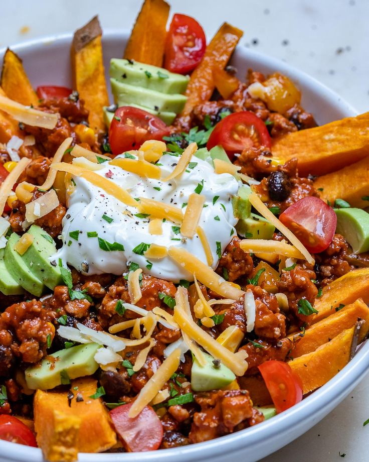 e4cefc64d1947c4ecd382452930fa472 Make these Chili Candy Potato Fries for Clear Consuming Heaven! | Clear Meals Crush