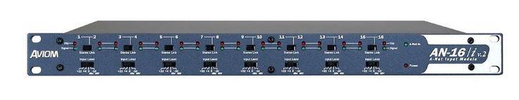 AVIOM AN16iV2 16 channel line level input module #Aviom