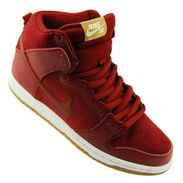 """finest selection be6d9 a68f5 Nike SB Dunk High Pro NT """"Team Red""""  Nike Runs the World  Pinterest  Nike  sb dunks, Nike dunks and Nike SB"""