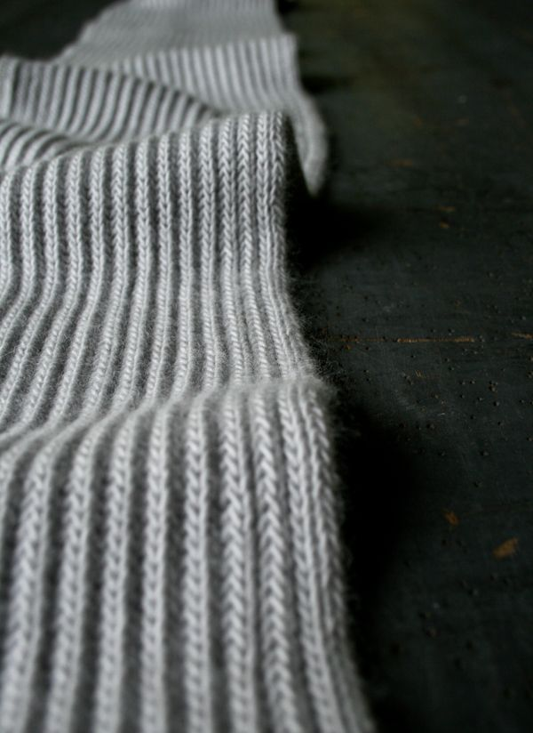 Brioche Knitting Tutorial : Laura s loop brioche scarf purl soho knitting crochet
