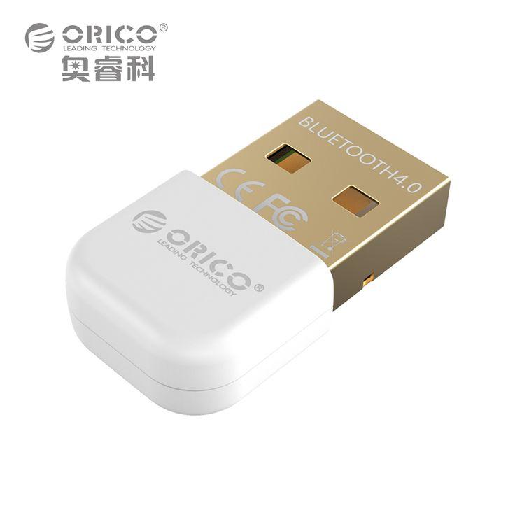 ORICO BTA-403-WH Mini Adaptador Bluetooth 4.0 Soporte Windows8/Windows 7/Vista/XP-Blanco