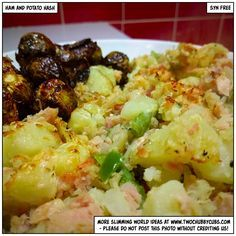 This ham and potato hash is syn free, quick to make and an easy dinner. If you're stuck for Slimming World ideas, you've come to the right place! Remember, at www.twochubbycubs.com we post a new Slimming World recipe nearly every day. Our aim is good food, low in syns and served with enough laughs to make this dieting business worthwhile. Please share our recipes far and wide! We've also got a facebook group at www.facebook.com/twochubbycubs - enjoy!