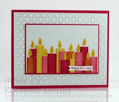 I stamp, I create, I have fun!: Bright Birthday Candles- SCIC46