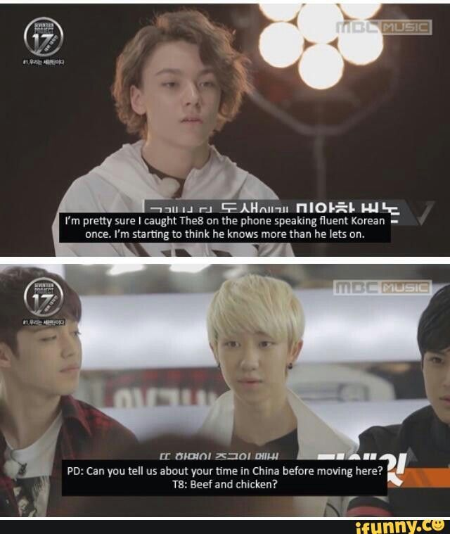 The reason he ignored the question is cuz he was a straight up thug before he came to Korea