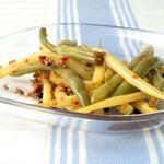 Spicy Pickled Beans Recipe | MyRecipes.com