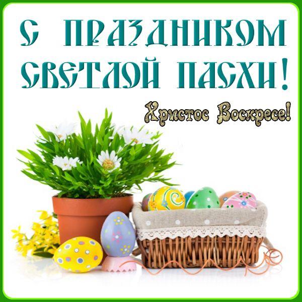С Пасхой, со светлым воскресеньем Христовым, Христос воскресе