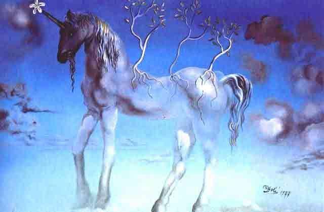 salvador dali The Unicorn