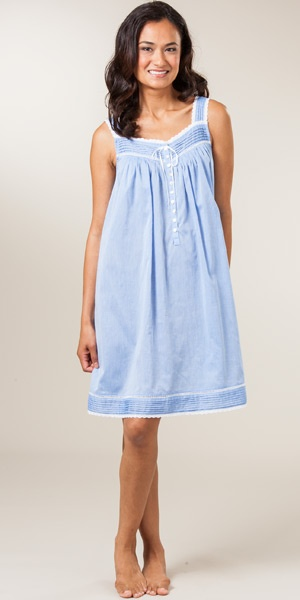 cute chambray Eileen West Nightgown!