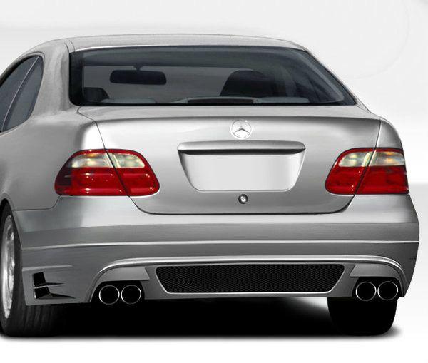 Duraflex 98-02 Mercedes CLK W208 BR-T Rear Bumper Cover Kit