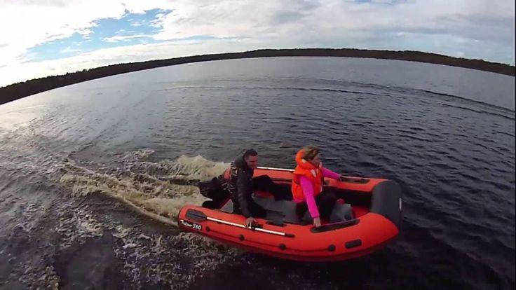 Лодка REEF Тритон 360 с надувным дном во всей красе