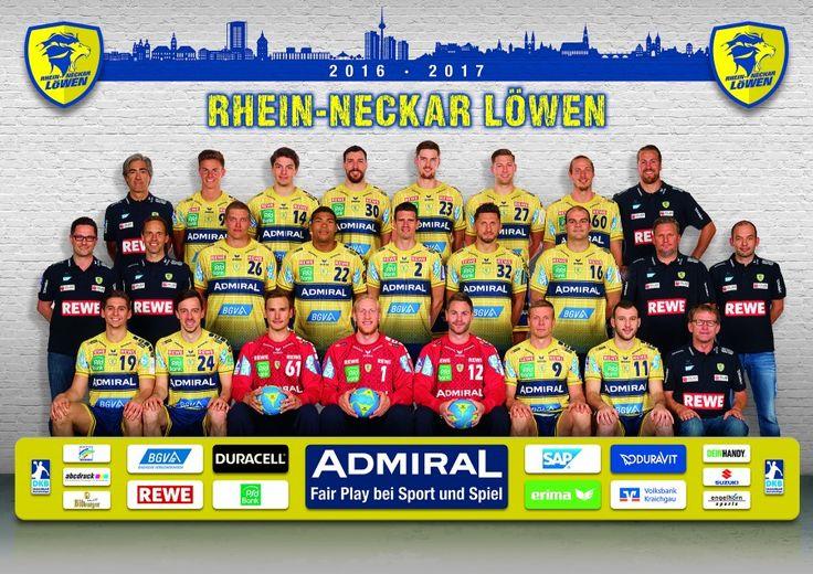 RheinNeckar Löwen Das Team 2016/2017 Rhein neckar
