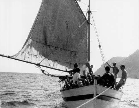 Αη Γιάννης Πηλίου το 1958... Φωτ. Τάκης Τλούπας