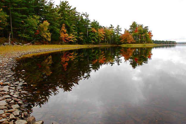 Autumn in Kejimkujik National Park, Nova Scotia.
