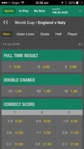 Double Chance betting strategy