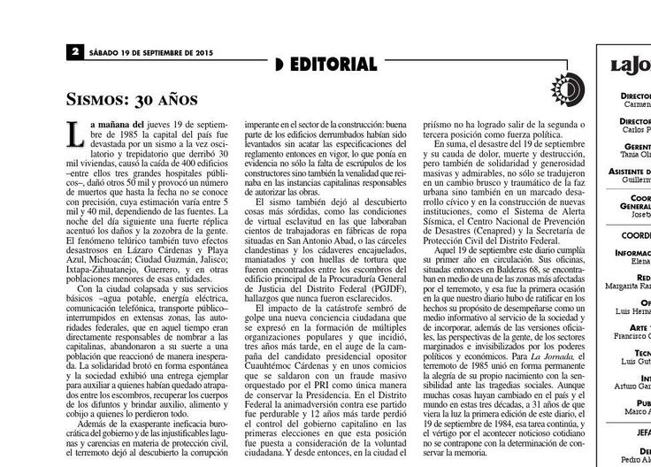 #ClippedOnIssuu from La Jornada, 09/19/2015