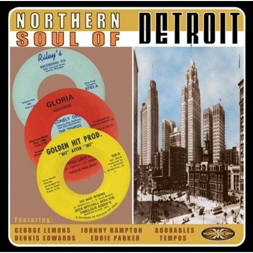 NORTHERN SOUL OF DETROIT CD