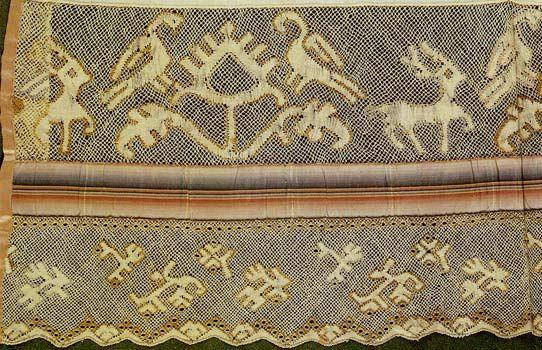 Полотенце назеркальное (начало XIX в.)