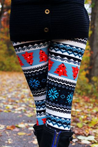 #need that's looks fun for a christmas holiday outfit, might wear with a dress or long shirt.