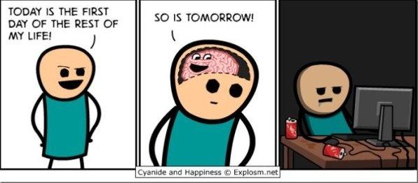 procrastination at its best.