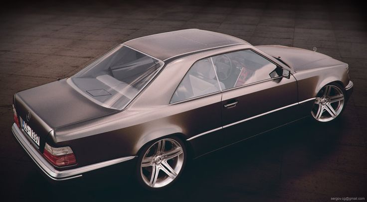 Mercedes-Benz W124 Coupe by sergoc58 on DeviantArt