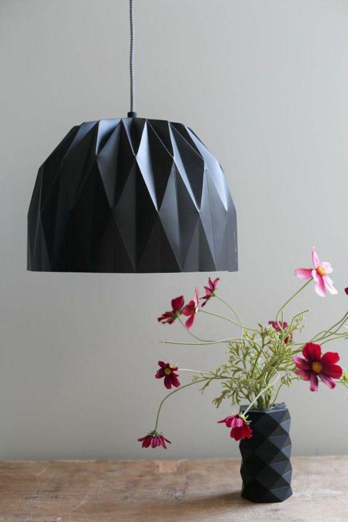 Les 25 meilleures id es concernant le tableau lampes en papier sur pinterest papier m ch - Lampe en papier ...