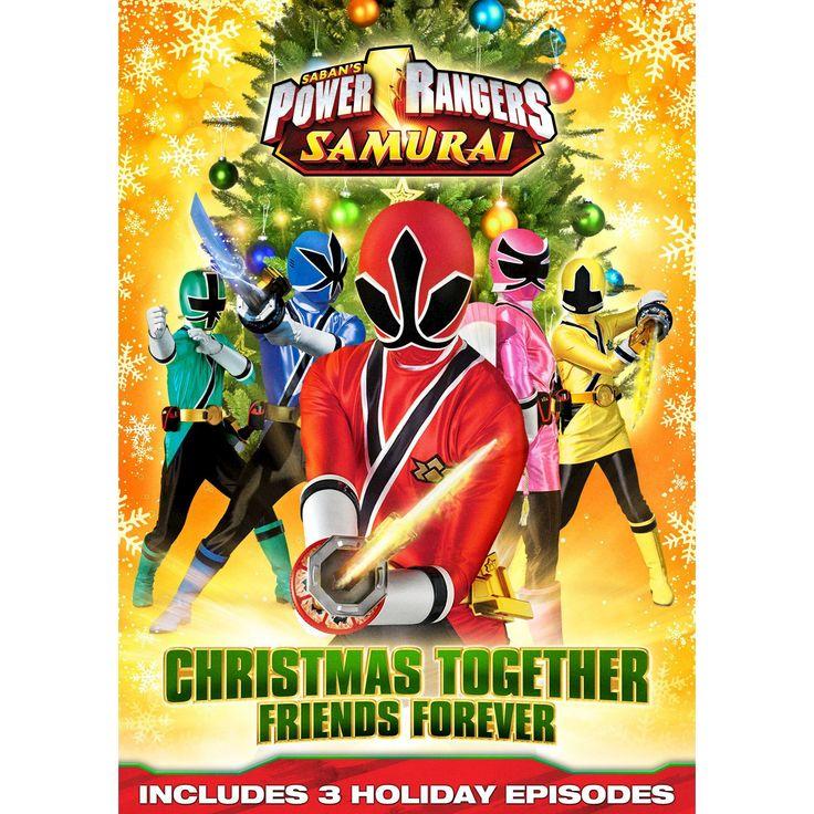 Power Rangers Samurai: Christmas Together, Friends Forever (dvd_video)