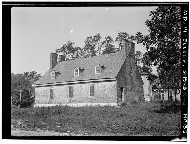 14.  Farm Bldg. Doughoregan Manor, Md. - Doughoregan Manor, Manorhouse Road, Ellicott City, Howard County, MD