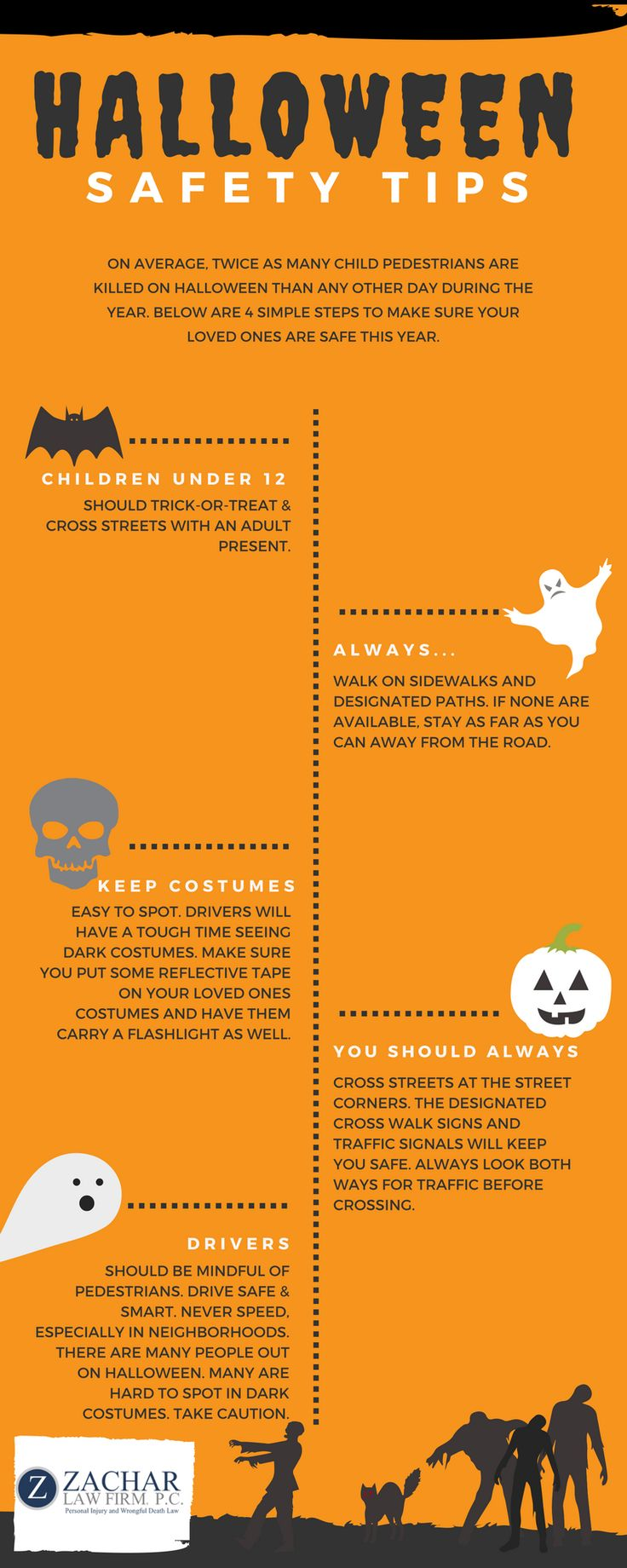 Gmail themes halloween - Halloween Safety Tips Every Parent Should Know Infographic