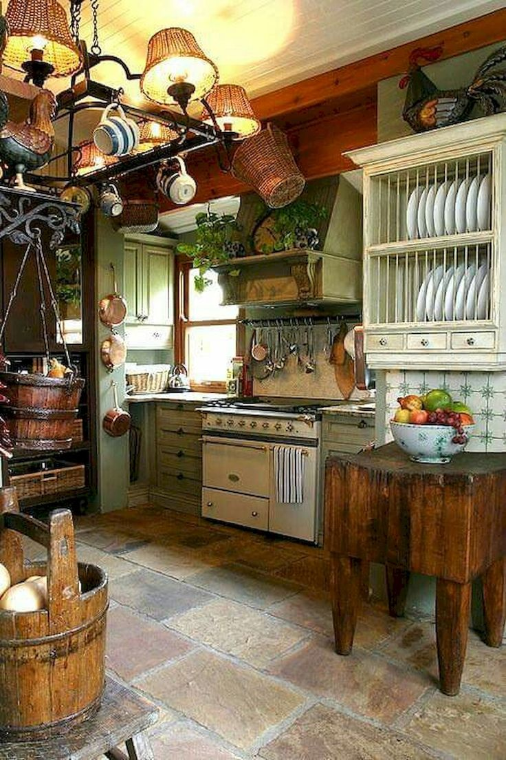 222 best Kitchens images on Pinterest | Bauernküchen, Landhausküche ...