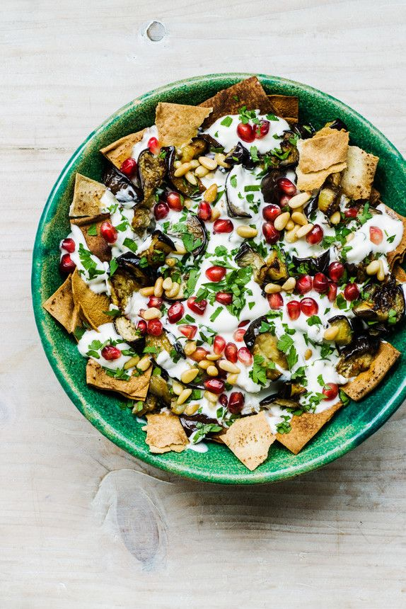 The Pool | Food and home - Aubergine fetteh