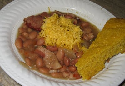 good old fashioned pinto beans (crock pot): Crock Pot, Fashion Pinto, Pinto Beans, Crockpot Goodies, Beans Crock, Beans And Cornbread, Absolut Favorite, Mr. Beans, Food Recipe