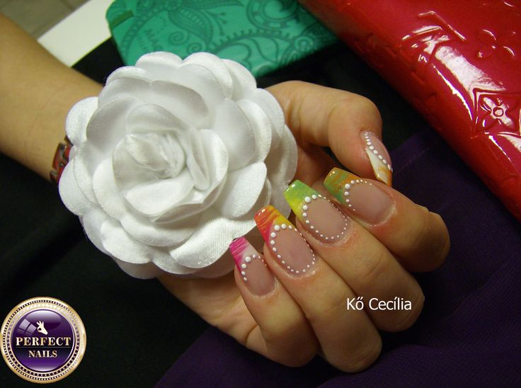 Nail art , nails.  From Hungary nails