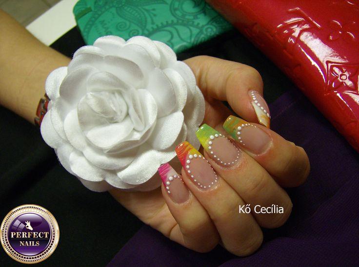Nail art , nails.  From Hungary nails