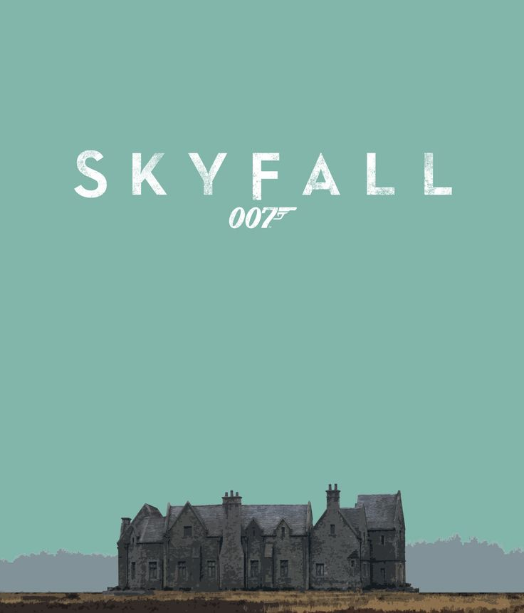 Skyfall 2 (see more on http://www.tranchesdunet.com/affiches-de-films-revisitees/ )