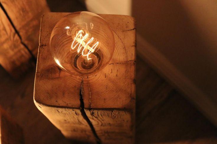 Vintage Lampe selber bauen. Anleitung von Saris Garage.