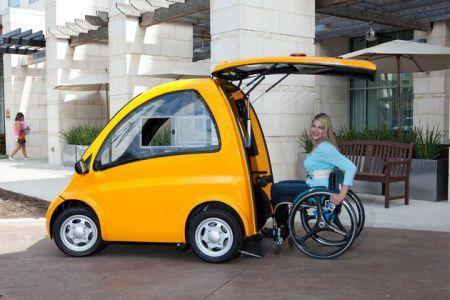 Kenguru la petite voiture électrique pour les personnes handicapées