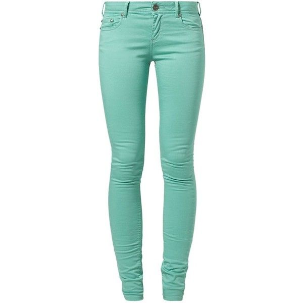 Best Mountain Trousers menthe ($51) ❤ liked on Polyvore featuring pants, jeans, bottoms, pantalones, calças, green and best mountain