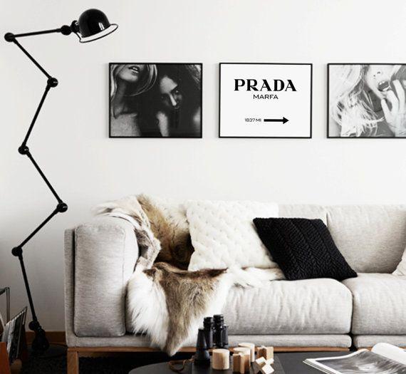 Prada Marfa Prada Poster Prada Marfa Sign by AngelinasArtShop